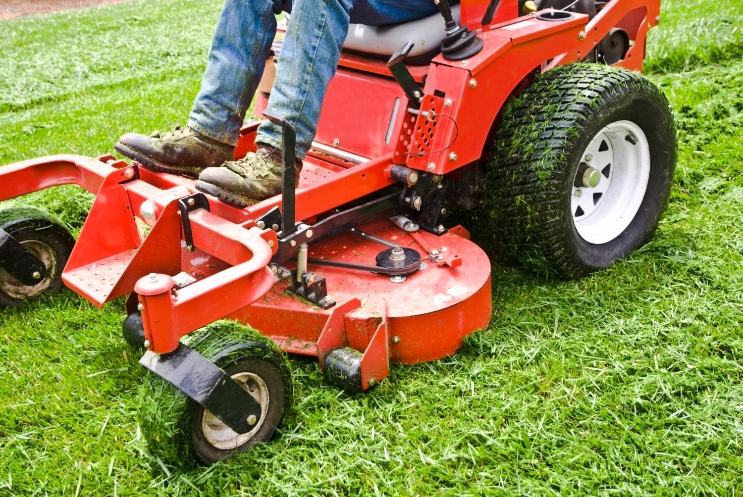 Green Grass Lawn Mowing, Commercial Facility Lawn Management